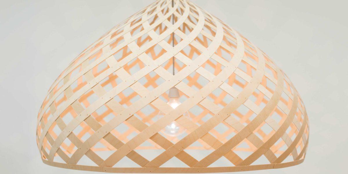 Ceiling lamp ZOME by Jaanus Orgusaar