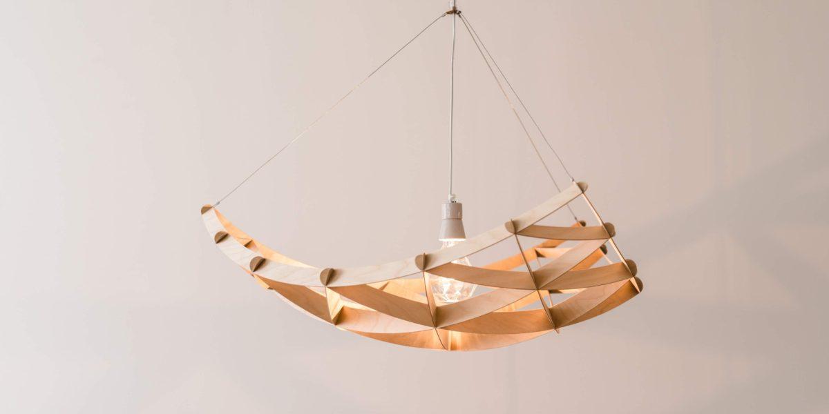 Ceiling lamp RAI by Jaanus Orgusaar