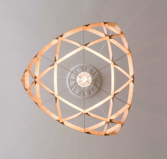 Deckenlampe RAI by Jaanus Orgusaar