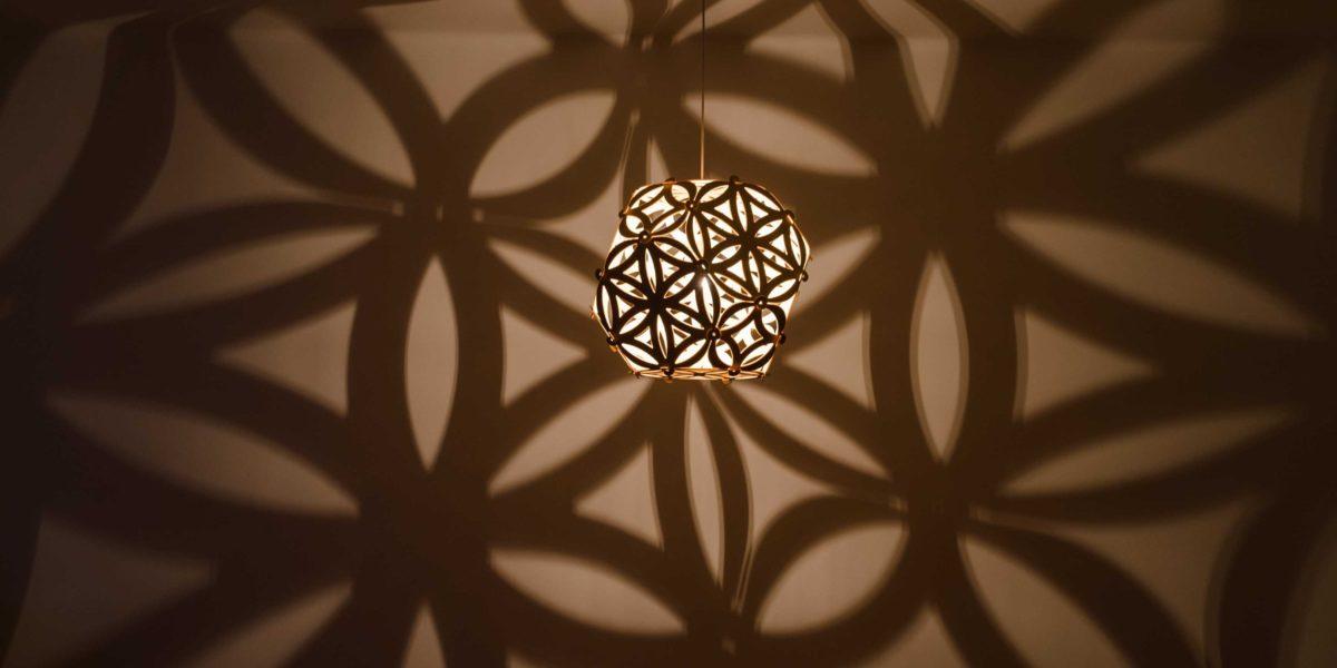 Ceiling lamp SOLAR COMPACT by Jaanus Orgusaar